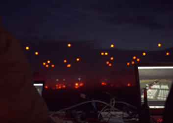 Intel's Record-Setting Drone Light Show at CES 2016